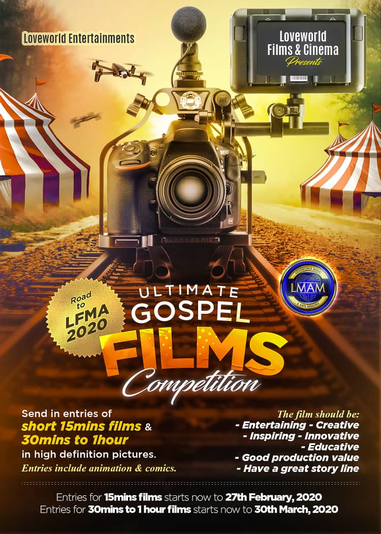 LOVEWORLD FILMS AND CINEMA COMPETITION